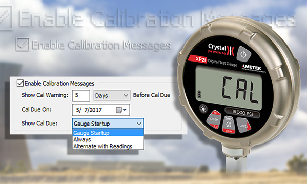Automatic Calibration Alert Added To Xp2i